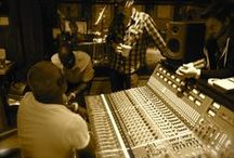 Recording Studios Gallery / Professional Recordings Studios, Simple Home Studios, and Everything in Between.