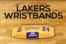 Los Angeles Lakers NBA Wristbands and Fan Gear / Shop for Los Angeles Lakers NBA wristbands and fan gear. Find your teams NBA bracelets and gear at Skootz! http://www.skootz.com/