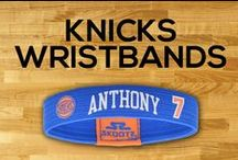 New York Knicks NBA Wristbands and Fan Gear / Shop for New York Knicks NBA wristbands and fan gear. Find your teams NBA bracelets and gear at Skootz! http://www.skootz.com/