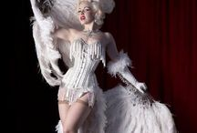 """Vintage Vixens & Burlesque Beauties / Images of our favorite sirens, vixens and dancers, and their ensembles. These women put the """"sin"""" in """"scintillating""""."""