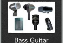 Best Mics for Recording Bass Guitar and Kick Drums