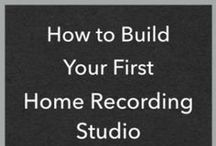 Home Recording Studio / A series of articles to help beginners get started with their first home studios.