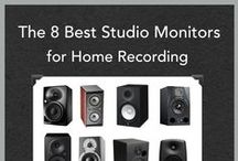 Studio Monitors / 10 Great choices of mid-range studio monitors perfect for home recording studios.