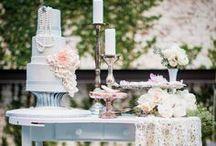 Inspiration: Wedding Cake Table