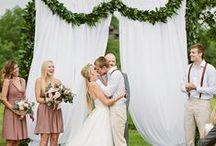 Inspiration: Outdoor Wedding