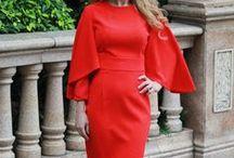 WOMEN IN RED / Women Fashions