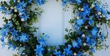 Holiday Wreaths / Wreaths and various styles of door decor for any holiday.