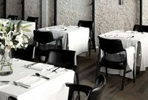Beautifully Basic - in White / From a single napkin to an entire theme, the impact of white is unmistakeable in these photos. Find the shade, thickness, feel and look you desire in Hoffmaster's napkin and tablecover selection at www.hoffmaster.com