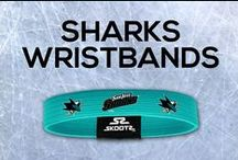 San Jose Sharks NHL Wristbands and Fan Gear / Shop for San Jose Sharks NHL wristbands and fan gear. Find your teams NHL bracelets and gear today!