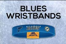 St. Louis Blues NHL Wristbands and Fan Gear / Shop for St. Louis Blues NHL wristbands and fan gear. Find your teams NHL bracelets and gear today!