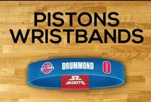 Detroit Pistons NBA Wristbands and Fan Gear / Shop for Detroit Pistons NBA wristbands and fan gear. Find your teams NBA bracelets and gear at Skootz! http://www.skootz.com/