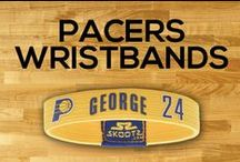 Indiana Pacers NBA Wristbands and Fan Gear / Shop for Indiana Pacers NBA wristbands and fan gear. Find your teams NBA bracelets and gear at Skootz! http://www.skootz.com/