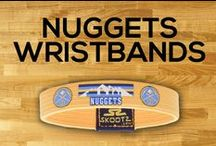 Denver Nuggets NBA Wristbands and Fan Gear / Shop for Denver Nuggets NBA wristbands and fan gear. Find your teams NBA bracelets and gear at Skootz! http://www.skootz.com/