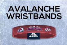 Colorado Avalanche NHL Wristbands and Fan Gear / Shop for Colorado Avalanche NHL wristbands and fan gear. Find your teams NHL bracelets and gear today!