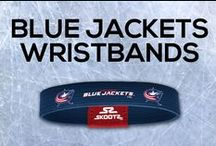 Columbus Blue Jackets NHL Wristbands and Fan Gear