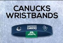 Vancouver Canucks NHL Wristbands and Fan Gear