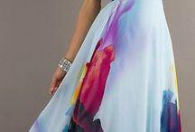WOMEN FLOWER DRESSES & SKIRTS