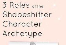 Shapeshifter Character Archetype / If you are writing a novel using the hero's journey structure, you may want to include the shapeshifter character archetype.