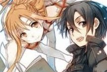 Sword Art Online / The anime, which I love. Kirito and Asuna - my favorite anime couple ♥