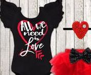 Be Mine, Valentine / Valentine's day baby outfits, home décor, gift, and party ideas.