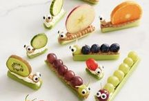 Healthy Kid Snacks / Get those kiddos on the path to health with a lunch box full of snacks boasting the nutrition you love and flavor they'll go nuts for.
