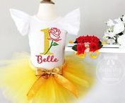Beauty and the beast / Beauty and the Beast inspired birthday ideas, outfits, party decorations, cakes, and more.