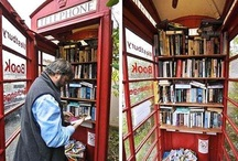 MicroLibraries / These kiosk-style libraries are an innovative immersion of books into urban settings!  Found a micro library in your area? Mention us in the pin of your pic, and we'll add it to our collection!
