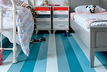 Flooring / Great use of color and textures of interior floors.