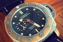 Bronze watches / Relojes de Bronce
