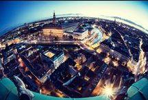 Nikolaj Kunsthal Tower Shots! / Photographs inspired by Nikolaj Kunsthal's tall tower :)
