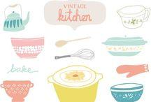 {Vintage Kitchen Kollection