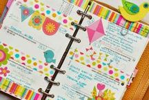 Planners, Journals, Documents, & Organization / by Wendy Karczewski