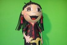 Mindaia Dolls 2013 / Muñecas fofuchas realizadas por encargo durane el año 2013