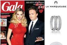 Gwiazdy i La Marqueuse / Znane i piękne w biżuterii La Marqueuse