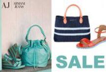 Armani Jeans wiosna - lato 2014 / Akcesoria Armani Jeans dostępne w butiku La Marqueuse Line.