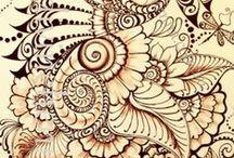 Zentangle  Art / by Kathy Elliott