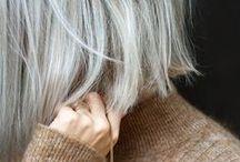 Minimal Hairstyles / blunt, simple, easy