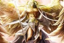 """Ángeles / """"Esto es todo lo que un ángel es: una idea de Dios."""" Meister Eckhart.-"""