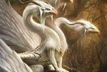 """Dragones / """"La realidad adopta a veces la forma de un dragón aterrador que se desvanece en cuanto nos atrevemos a mirarlo de frente."""" Laurent Gounelle.-"""