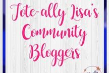 Tote-ally Lisa's Community Bloggers / This group board is for bloggers of Tote-ally Lisa's Community. You must be a member of my community group and a follower of this board. (No seriously, it won't let me add you otherwise.) Join my community: www.tote-allylisa.com/community  Send me an e-mail: toteallylisa@gmail.com with Pinterest URL.