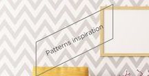 Patterns Inspiration / SICO PAINTS | Dots, stripes, chevrons... there are so many choices for sprucing up your walls with cool geometric patterns. Learn the art of painting patterns, then experiment with your own ideas! Discover our tips and tricks for painting patterns.