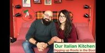 Our Italian Kitchen / Lilla and Diego invite you into their cozy Italian kitchen to share some authentic Italian recipes while they talk about #ItalianCulture, #ItalianTraditions, #ItalianSuperstitions, and much more!