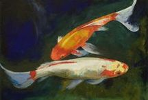 Paintings of Fish / Exactly what it says on the tin :)