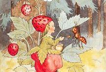 Elsa Beskow ,Ida Bohatta  and more / by Barbara