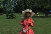 Fashion Show at Mackinaw Area Historic Festival / Fashion Show at Mackinaw Area Historic Festival  Historical Clothing Modeled
