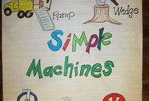 Simple Machines for Science Classrooms / Simple machines in the study of elementary science. / by Science4Us