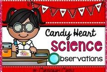 Valentine's Day Science / Valentine's Day themed science activities. / by Science4Us