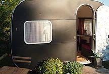 www.unepetitepieceenplus.com .... / Caravanes vintages transformées en chambre, bureau, ect... vintage caravane - caravane relooking