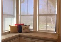 Window Seat Cushions - Austin Blind Faith / Austin Blind Faith offers other services with the luxurious and durable fabrics we carry. Custom window seats can be an excellent accent to the window treatments we create for you!
