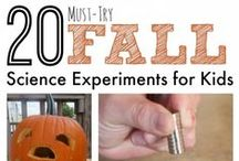 Fall Science Fun / Science with fall fun! / by Science4Us